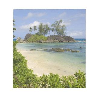 Coastal view on Mahe Island Notepad
