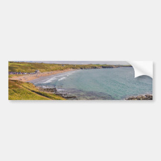Coastal View Whitesands Bay Pembrokeshire Wales Bumper Sticker