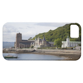 Coastal view with historic buildings, Oban, iPhone SE/5/5s Case