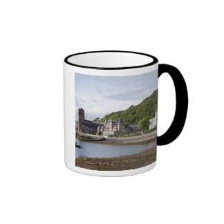 Coastal view with historic buildings, Oban, Ringer Coffee Mug