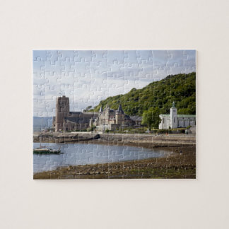 Coastal view with historic buildings Oban Jigsaw Puzzle