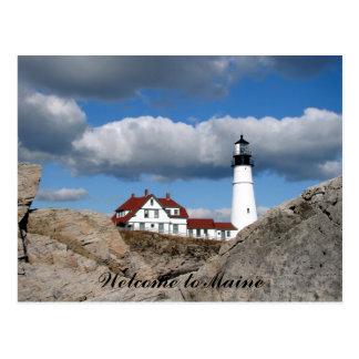 Coastal Views of Maine Postcard