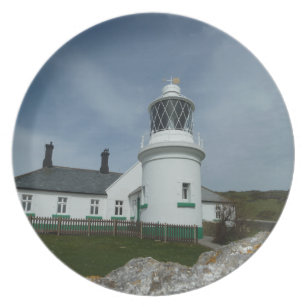 Coastal Views - The Old Lighthouse Dinner Plate  sc 1 st  Zazzle & Old Lighthouse Plates | Zazzle