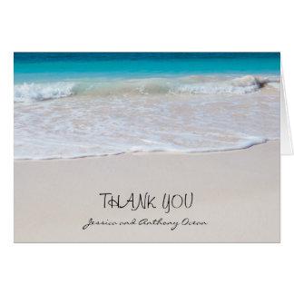 Coastal Vows Horizontal Thank You Notes