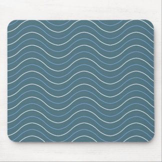 Coastal Waves Mouse Pad