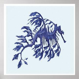 Coastal- Weedy Sea Dragon Poster