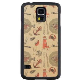 Coastal Carved® Maple Galaxy S5 Case