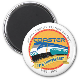 Coaster 15th Annivesary Magnet