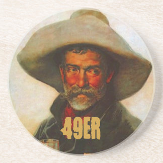 Coaster 49er Gold Mining Miner Gold Rush Miners 49