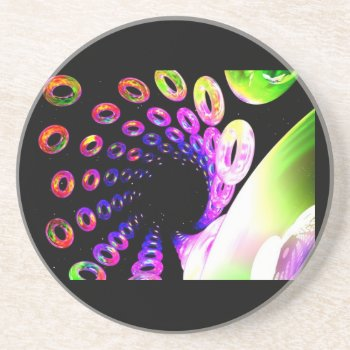 Coaster Abstract Art Customize by creativeconceptss at Zazzle