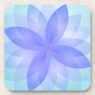 Coaster abstract lotus flower