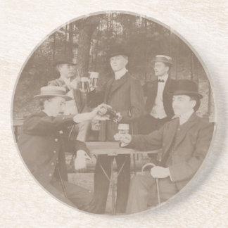 Coaster Antique Fancy Gentlemen Toasting Celebrate