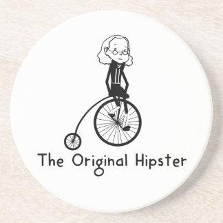 Coaster - Ben Franklin - The Original Hipster