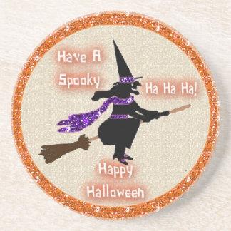 Coaster Broom Stick Witch