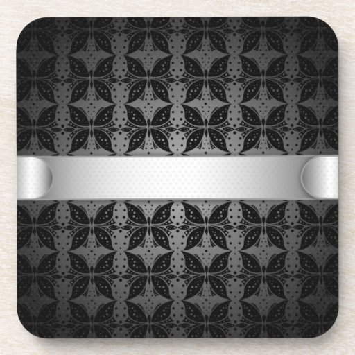 Coaster Butterfly Abstract Fabric