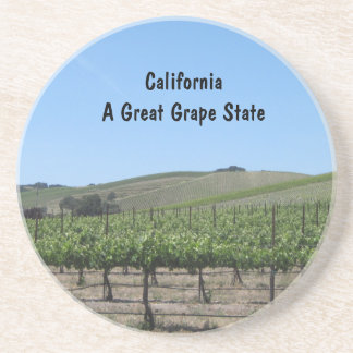 Coaster: CA Wine Country, Great Grape State