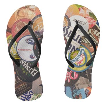 Beach Themed Coaster Collection Flip Flops