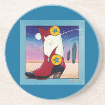 Coaster - Cowboy Boot, All Dressed Up