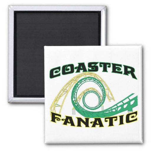 Coaster Fanatic 2 Inch Square Magnet