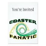 Coaster Fanatic Custom Invite