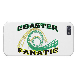 Coaster Fanatic iPhone 5/5S Cases