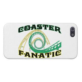 Coaster Fanatic iPhone 5 Cases