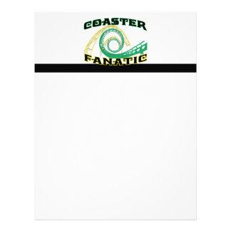 Coaster Fanatic Letterhead