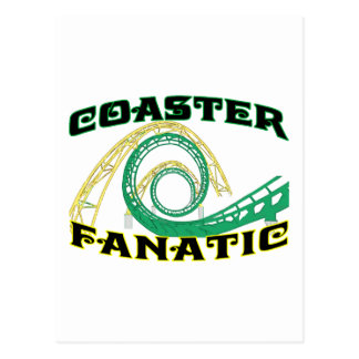 Coaster Fanatic Post Cards