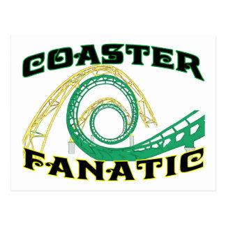 Coaster Fanatic Postcard