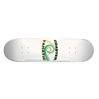 Coaster Fanatic Skateboard Deck