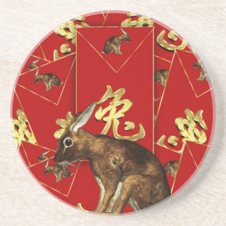 Coaster For Chinese New Year 2011 Rabbit