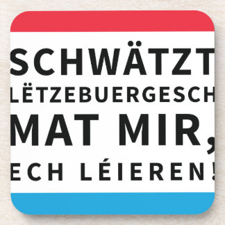 Coaster for People who Learn Luxembourgish