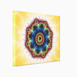 Coaster - Fractal Art Canvas Print
