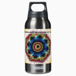 Coaster - Fractal Art Insulated Water Bottle
