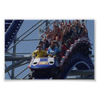 Coaster Fun Poster