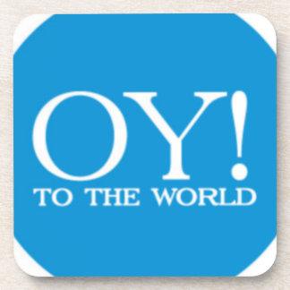 Coaster - Hanukkah Oy! to the World