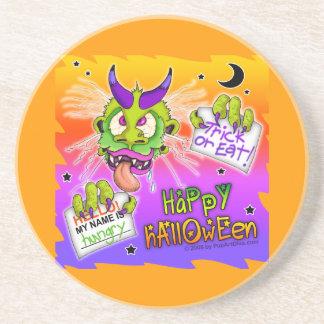 Coaster - Happy Halloween Boogeyman Monster