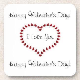 Coaster(Happy valentine's Day) Drink Coaster