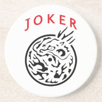 Coaster in Mah Jong Joker Tile
