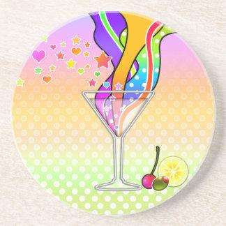 Coaster, Maxxed Pop Art Martini