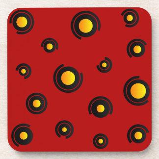 """Coaster - Model """"Sphéris"""" - Red"""