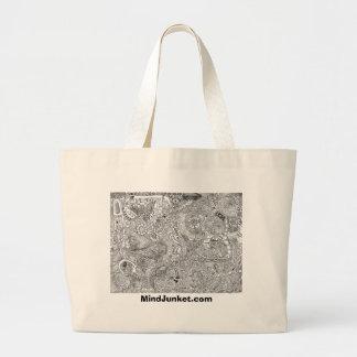 Coaster of Dreams Drawstring Tote Canvas Bags