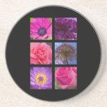 Coaster - Pink Purple Flowers