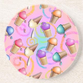 Coaster - POP ART ICE CREAM CONES