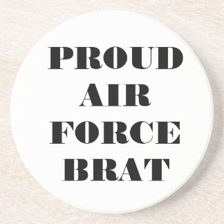 Coaster Proud Air Force Brat