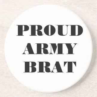 Coaster Proud Army Brat