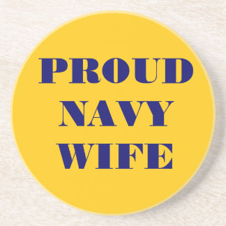 Coaster Proud Navy Wife