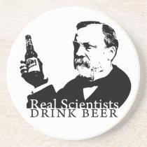 Pasteur Drink Coaster