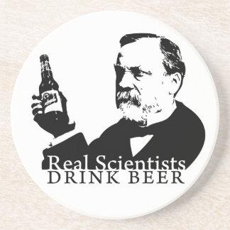 Coaster - Real Scientists Drink Beer