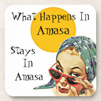 Coaster Retro Secret What Happens In amasa Stays